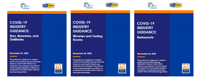 Show the Covid-19 guidance documents