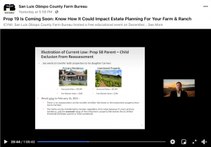 Farm & Ranch estate planning presentation