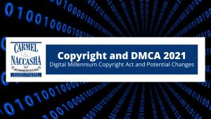 Copyright and Digital Millennium Copyright Act