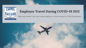 Employee Travel During COVID-19