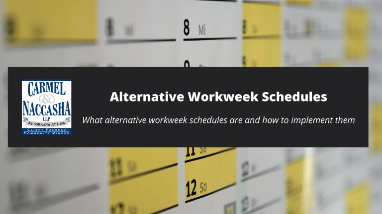 Alternative Workweek Schedules